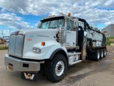2014 Western Star 4900SB Tri-Drive Vac Truck VIN#5KKPALBG1EPFM1095