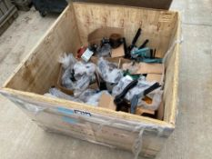 Crate of Asst. Grooved valves