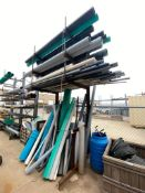 """6'L X 5'D x 16""""H Cantilever Racking (Contents Not Included)"""