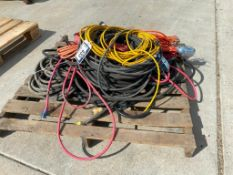 Pallet of Asst. Extension Cord and Trouble Lights