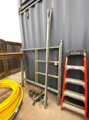 Lot of Assorted Scaffolding