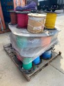 Pallet of Asst. AWG Electrical Wire