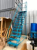 13-Step Mobile Warehouse Stairs