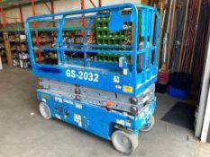 2012 Genie GS - 2032 Electric Scissor Lift