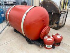 Lot of (3) Asst. Pressure Tanks