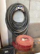 Lot of (2) Rolls of Asst. Water Hose and (1) Garden Hose