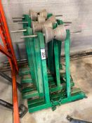 Lot of (4) Pipe Rolling Stands