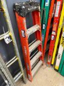 Werner Fiberglass 4' Step Ladder