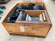 Crate of Asst. Size Flanges