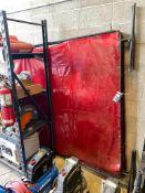 Lot of (2) Welding Screens