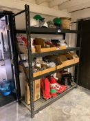 (1) Section of Parts Shelving