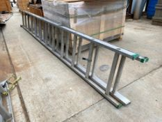 Louisville 24' Aluminum Extension Ladder