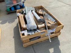 Crate of Asst. Parts including Valves, Shrouds, Transformer Assembly, etc.