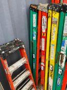 Werner Fiberglass 6' Step Ladder