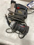 Lot of (1) Sears Craftsman Electric Auto-Scroller Saw and (1) Rotozip DR1