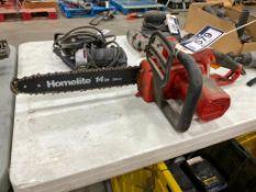 "Homelite 14"" UT43102 Electric Chain Saw"