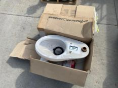 Pallet of Toilet Bowl (No Tank) and Urinal