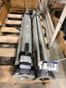 Lot of (2) Surveying Tripods