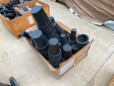 Crate of Asst. Watts Plastic Pipe Sleeves