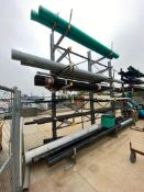 Contents of Cantilever Racking including Asst. Steel Pipes, PVC Pipes, Etc. (Rack Not Included)