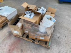 Pallet of Asst. Plastic Pipe Fittings, etc.