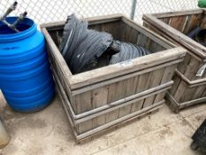 Crate of Asst. Construction Heating Ducts