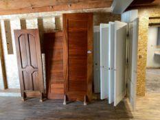 Lot of (8) Asst. Doors