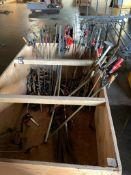 Material Cart w/ Asst. Clamps