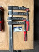 Lot of (2) Bessey Clamps