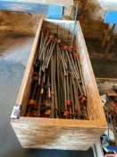 Crate of Asst. Pipe Clamps