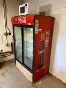 Coca-Cola Sliding Door Refrigerator