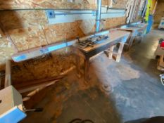 Lot of (2) Wooden Work Benches