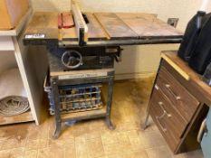 Rockwell 34050 Professional Tilting Arbor Saw