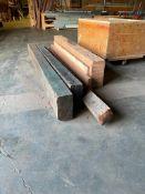 Lot of Asst. Wood Beams