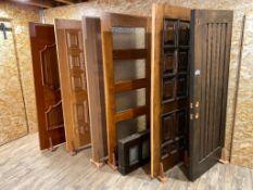Lot of (6) Asst. Doors