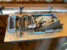 Lot of (5) C Clamps