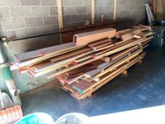 Lot of Assorted Hardwood and Lumber