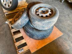 Pallet of (5) Asst. Tires