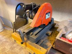 Lot of Tools including Cut-Off Saw, Bench Vise, Clamps, Bits, Hole Saw, Chain, Snips, etc.