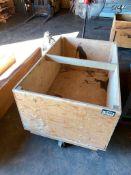 Shop-Built Wooden Material Cart