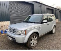 2012 LANDROVER DISCOVERY LOCATION N IRELAND