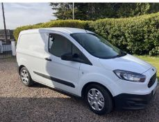 2015 FORD COURIER VAN LOCATION N IRELAND