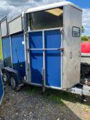 IFOR WILLIAMS HB505R HUNTER HORSE TRAILER LOCATION N IRELAND