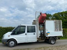 2011 FORD TRANSIT CREW CAB CAGE TIPPER LOCATION NORTH YORKSHIRE