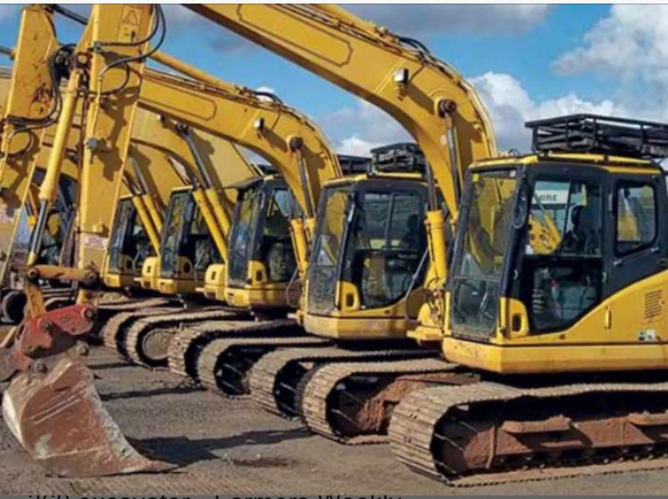 UK AND IRELAND EX HIRE PLANT MACHINERY AND COMMERCIALS ENDS SUNDAY 6TH JUNE AT 6PM!!