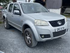 2013 Great Wall Steed 2.0 TD S 4x4 Pickup LOCATION Co.DOWN N.Ireland