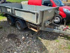 IFOR WILLIAMS TT3017 TIPPING TRAILER LOCATION NORTH YORKSHIRE