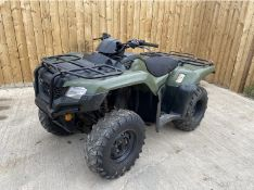 2016 SUZUKI KING QUAD 400 4WD ATV LOCATION NORTH YORKSHIRE
