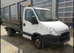 2014 IVECO DAILY TIPPER PICK UP LOCATION NORTH YORKSHIRE