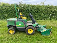 2012 JOHN DEERE 1545 OUT FRONT FLAIL MOWER LOCATION YORKSHIRE